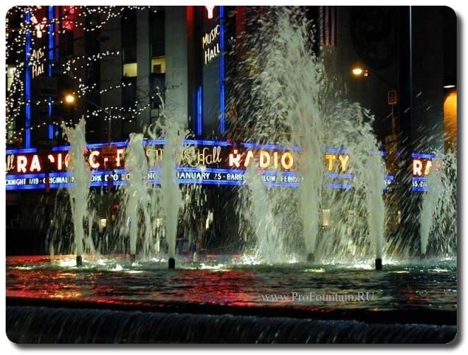 Фонтаны Нью-Йорка, США www.ProFountain.RU